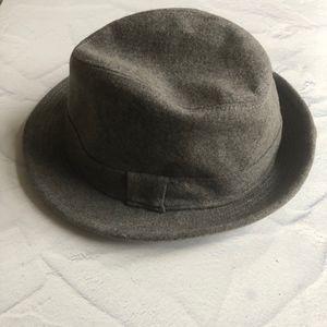 J. Crew Factory Gray Wool Blend Hat